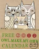 Owl Lover 2012 Calendar