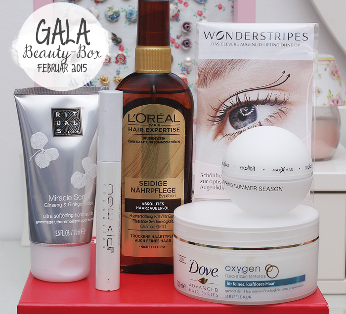 Gala Beauty Box Februar 2015