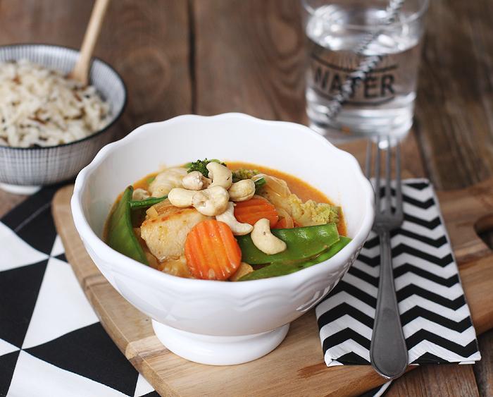Thai Curry Hähnchen