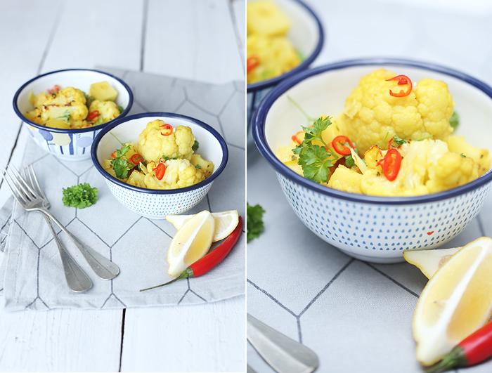 Blumenkohl Curry Jamie Oliver