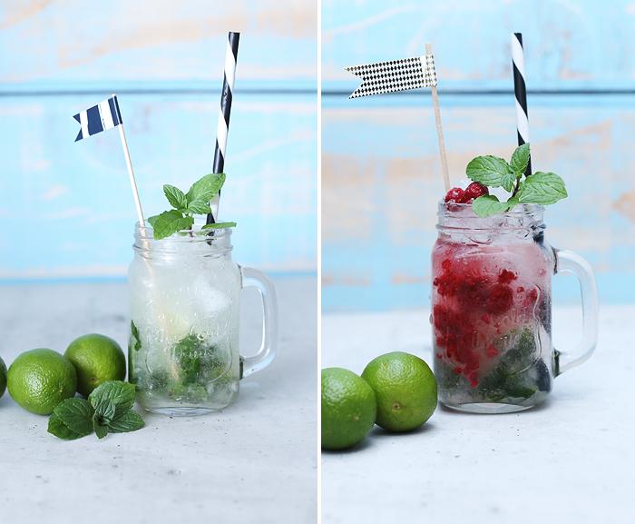 Mojito Cocktail Himbeere