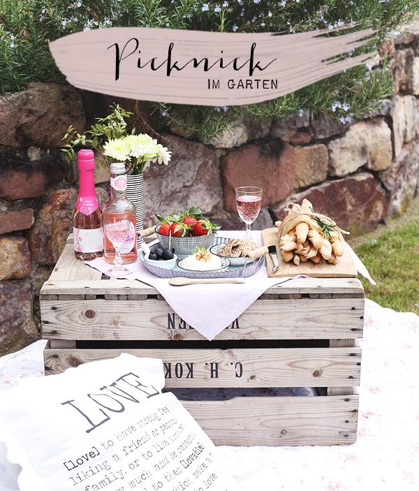 Picknick Muttertag Garten