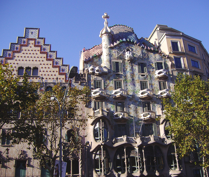 Barcelona Reiseglück Travel Travelguide Reiseführer Gaudi Casa Batlló