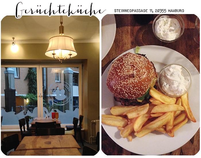 Hamburg Gerüchteküche Burger Pommes
