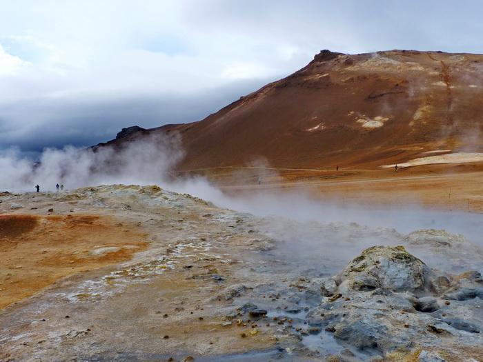 Island Vulkan Hverarönð Reiseglück