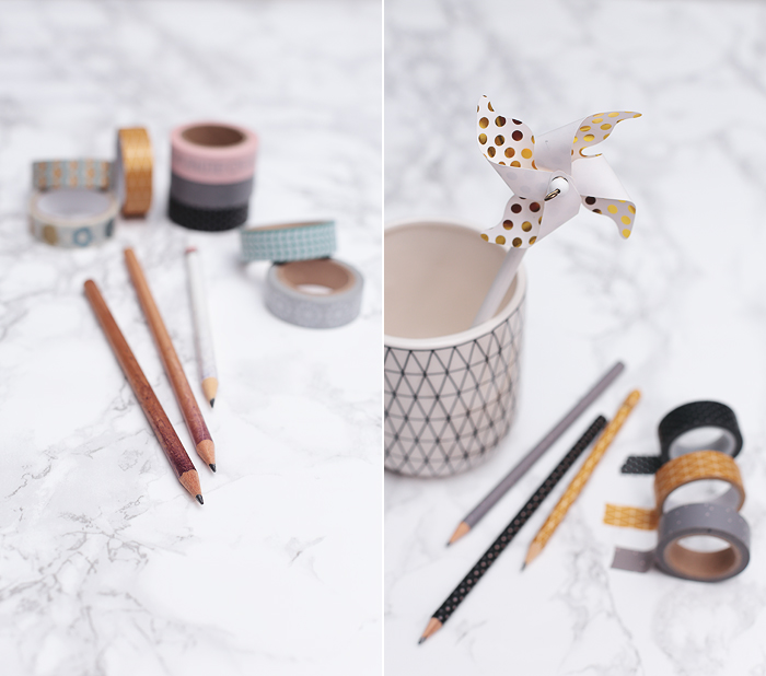 Masking Tape Washi Tape hack DIY quick easy Stifte umwickeln