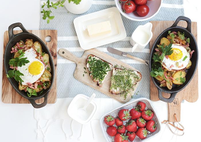 Herzhaftes Bauernfrühstück Regionalprodukte EDEKA Unsere Heimat – echt & gut