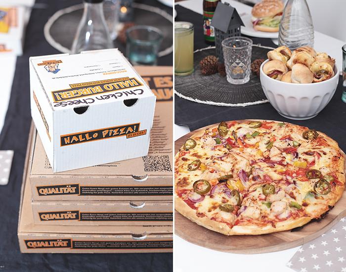 Ein Pizza-Abend mit Freunden + Spiele-Empfehlung für Weihnachten/Silvester Exploding Kittens Hallo Pizza