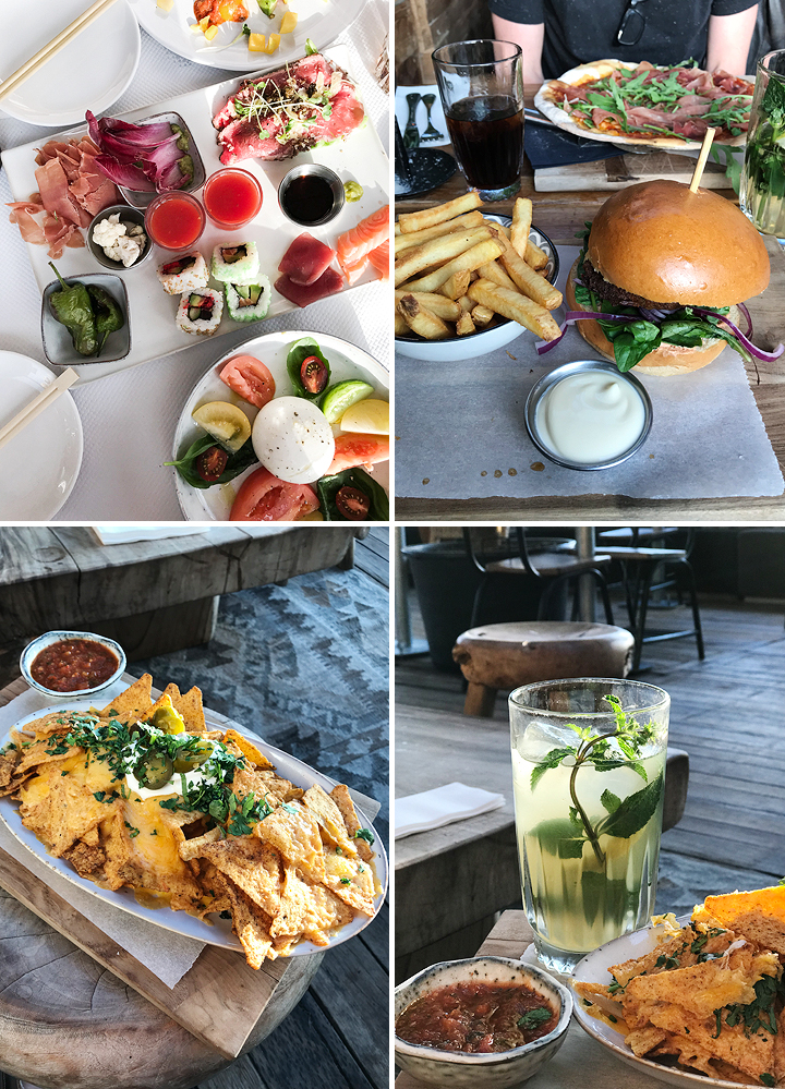 Branding Beach Club Essen Food Noordwijk