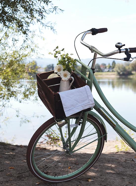 Hollandrad mint Frühstück2go Radtour Fahrradtour Offenburg mymuesli Emmi