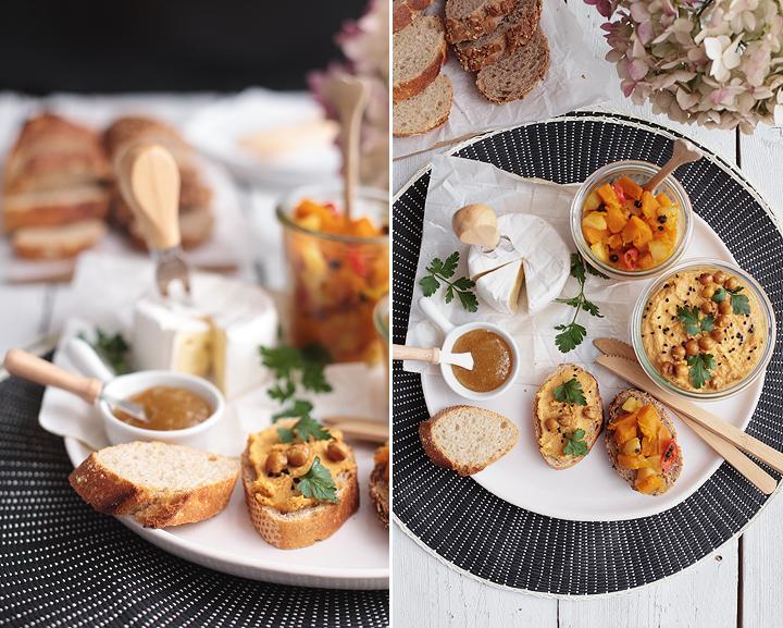 Karotten-Hummus Kürbis Chutney Neo Bakery Baguette dm